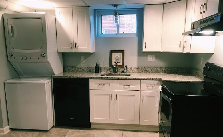 New 1 BR Apartment near Franciscan University.