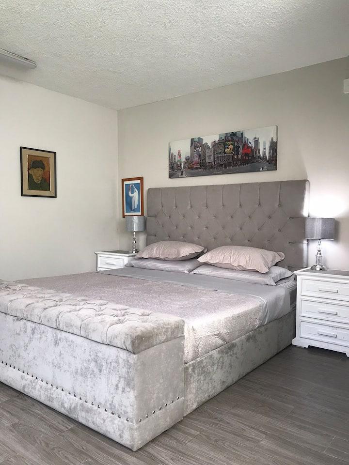 Suite NY cocina/baño y entrada indep al sur DF