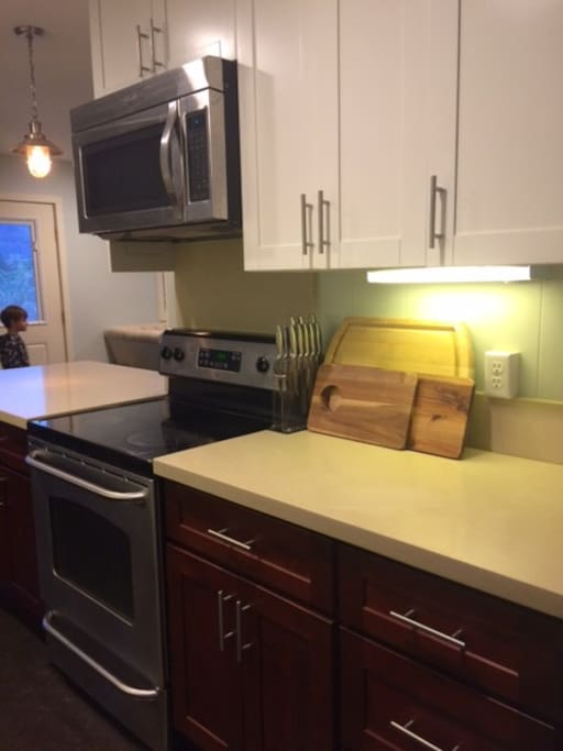 Recently Remodeled kitchen - partial view