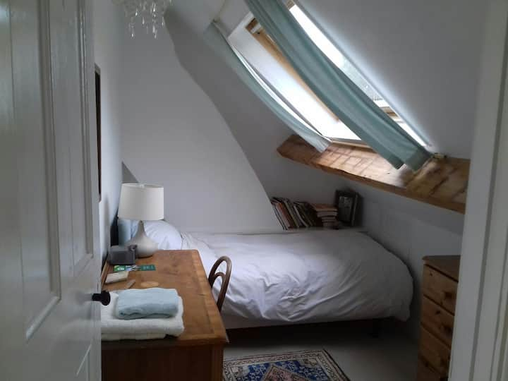 Single  room in converted loft in Llandaff