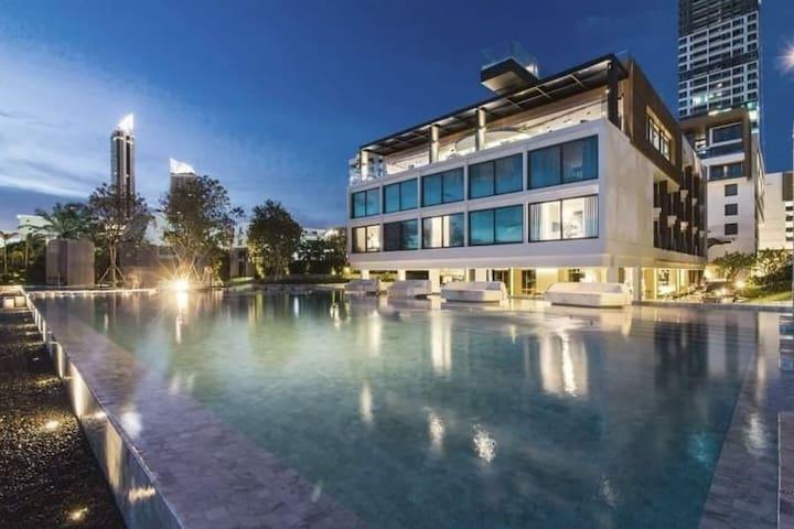 Veranda Residence Pattaya by NTA,Balcony Seaview