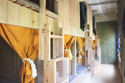 Mixed Dormitory 8Beds (Free Wi-Fi)