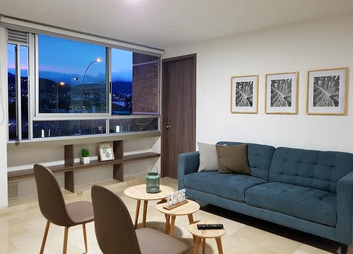 Apartamento en Cali, hermoso e iluminado - 306