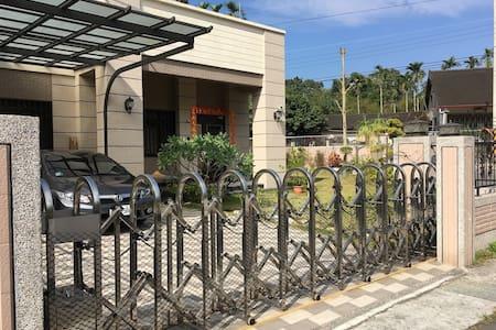 竹山度假別墅,前庭後院環境優美,生活機能便利