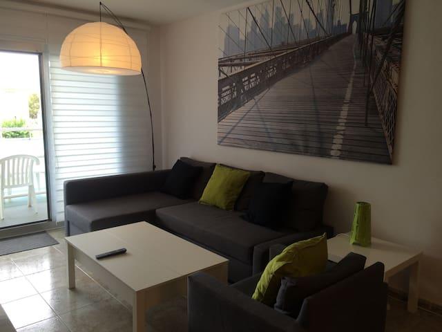 Apartamento nuevo frente playa - Castelldefels - Appartement en résidence