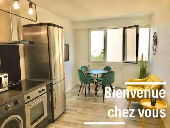HOME LIBERTY  WIFI + PARKING à 35min de PARIS