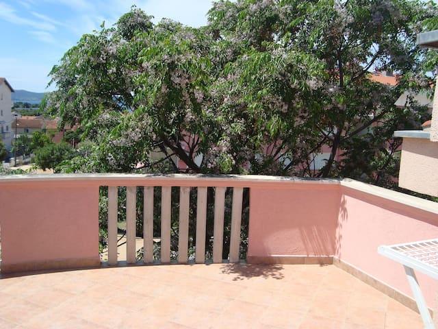 1 Zimmer Ferienwohnung, In Zadar, Terrasse