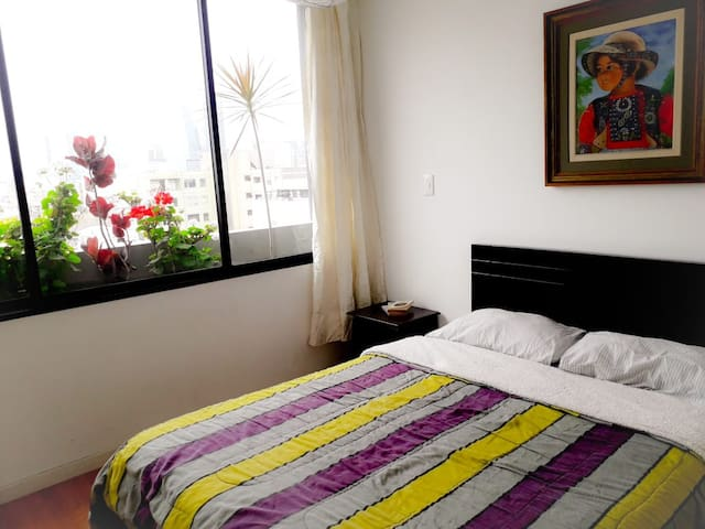 Comfy Private Room & Bathroom in San Isidro/Lince