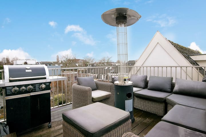 → APARTMENT WITH ROOFTERRACE + VIEW ON DOM TOWER  - Utrecht - Apartament
