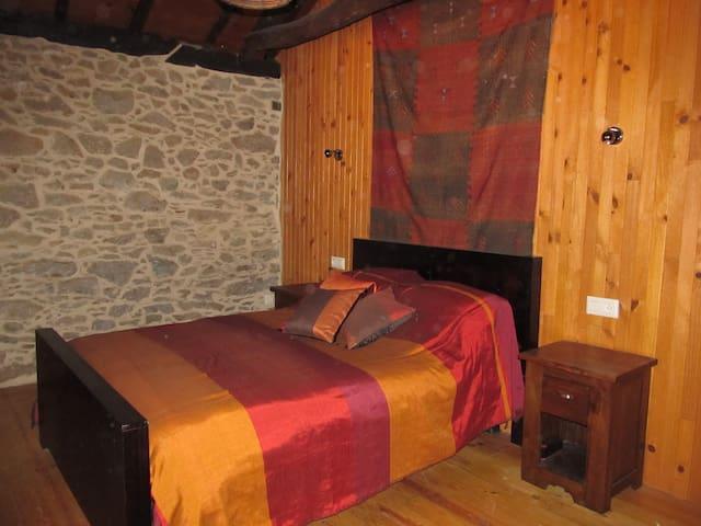 Miller's double bedroom