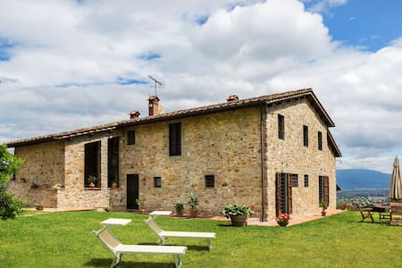casa buriano for 12 with priv Pool - Quarrata - Dom