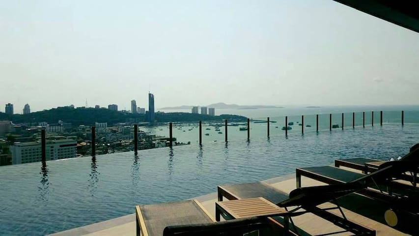 The Base Pattaya 11th floor Nice View - Muang Pattaya - (ไม่ทราบ)