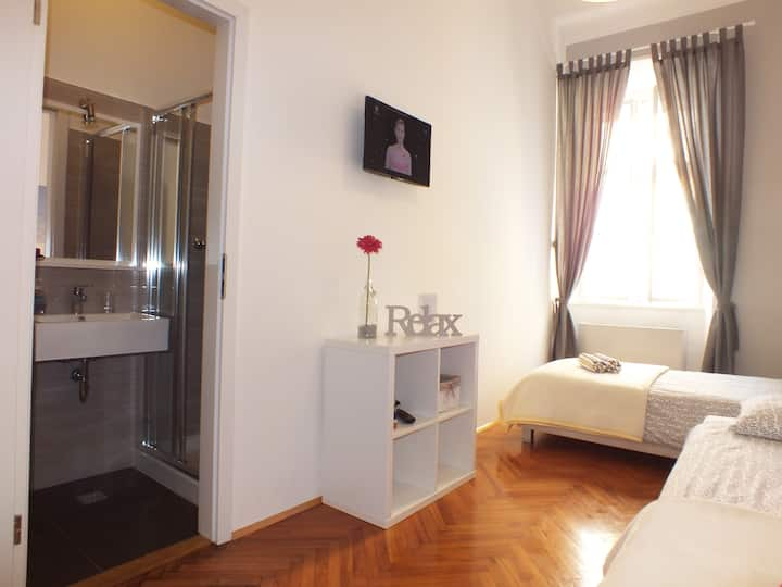 Ensuite Room ''Grožnjan'' with private bathroom