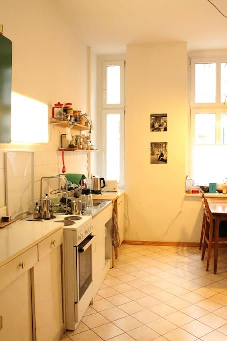 Küche mit allem, was das Herz begehrt