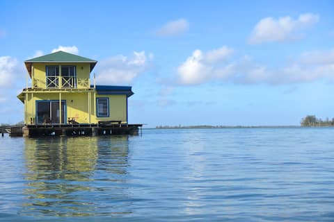 Sunset Point Houseboat, Andros, Bahamas