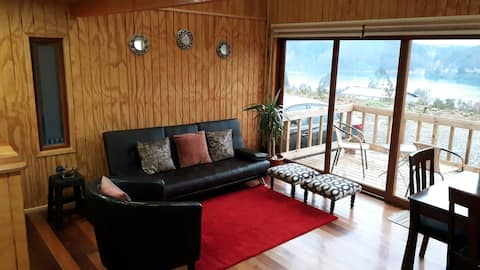 CostaLoft 1 *Terrace overlooking the Valdivia River