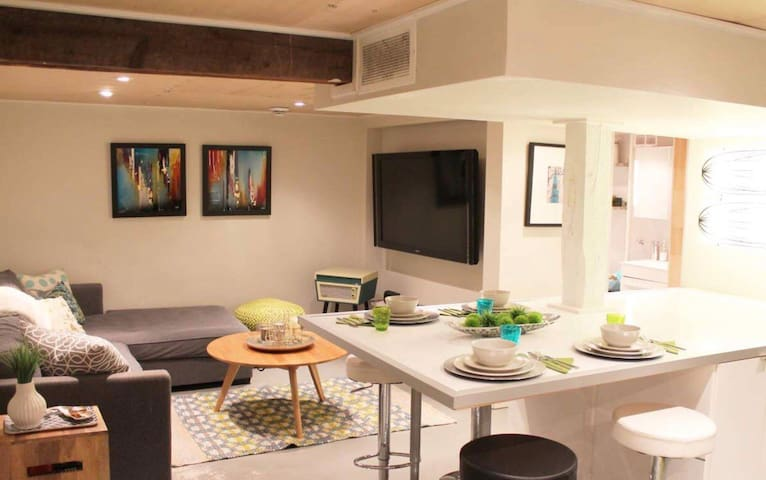 Trendy Downtown 1 Bedroom- Near Canal