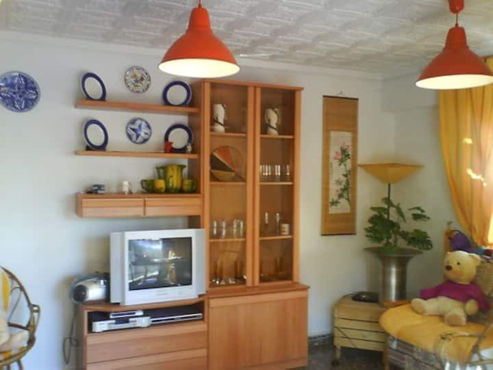 Apartamento  1ª linea de playa , Santa Pola  WiFi