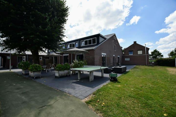 Modern Farmhouse in Wijchen with Private Garden