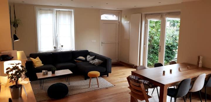 Nice modern house with garden