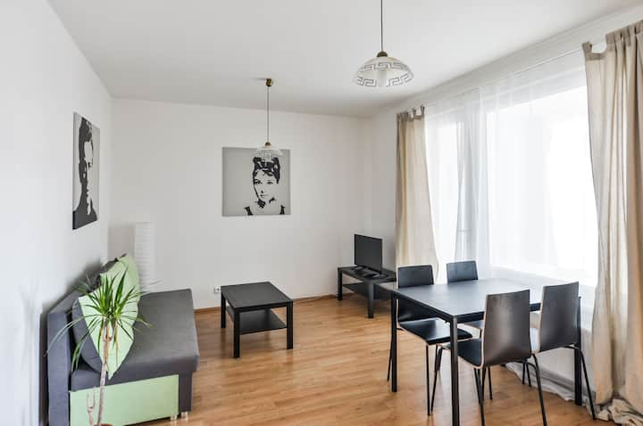 Calm 2Room Apt just 20min from Wenceslas Square