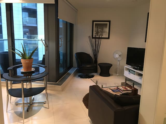 Modern  studio minutes walk from Canary Wharf - London - Apartment