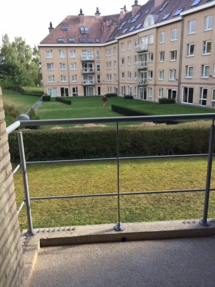 1-slaapkamer appartement met terras