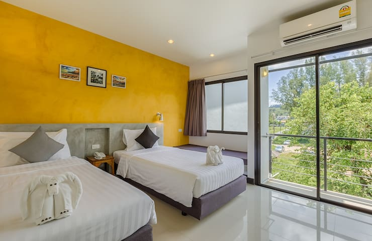 Ideo Phuket Superior Twin With Balcony