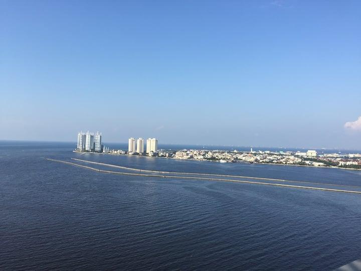 Promo! Penthouse Floor-Ocean View-2BR-Free WIFI!