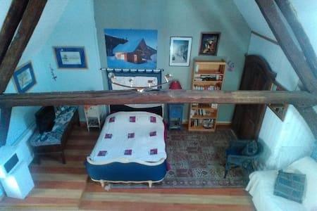 Grande maison ensoleillée/chambre bleue lumineuse - Sancerre - Rumah