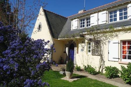 Le Cottage - Chambre Matin Bonheur - Saint-Molf