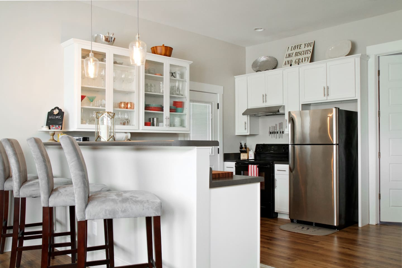 Open Kitchen Area