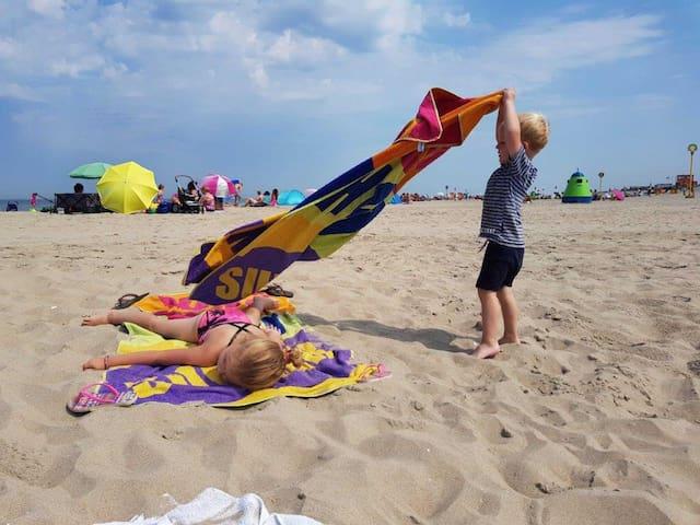 Heerlijke woning vlakbij het strand aan de Zuid-Hollandse kust