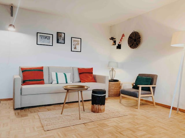 Boutique Apartment 4Vallees + sauna + parking