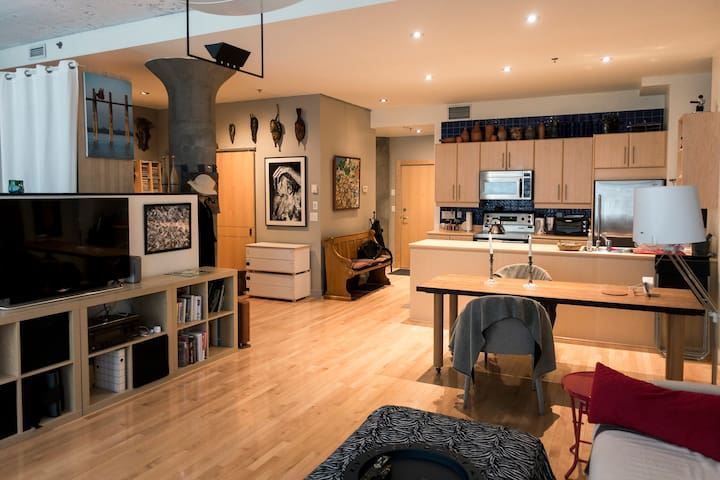 Loft in the Heart of Montreal - Montréal - Loft-asunto