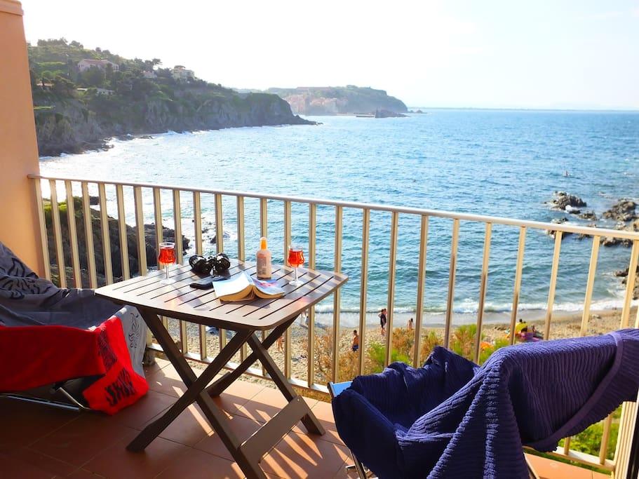 Alosa Balcony overlooking the beach