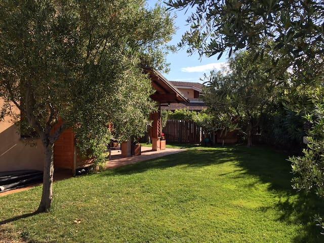 villa riservata a capalbio in elegante residence
