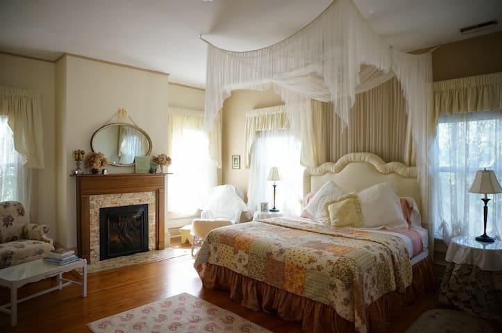 Love Room--King Bed.  $150 per night