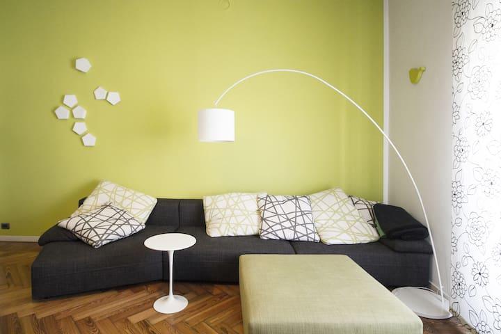 Appartamento di design in crocetta - Politecnico