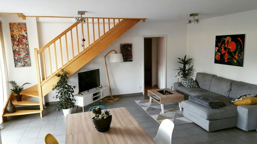 Peaceful apartment close to Swiss border