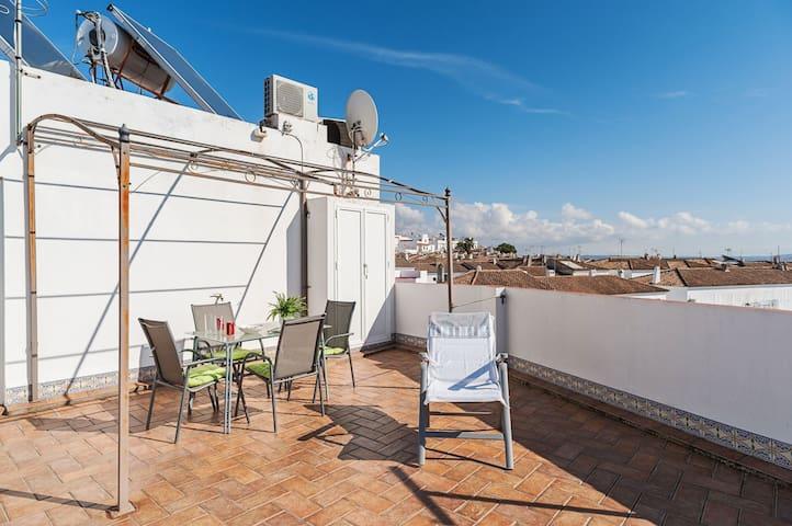 Terrace with Breathtaking Views - Apartment Sebastian 2 Alto