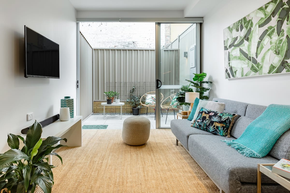Bright Urban Studio with Private Courtyard