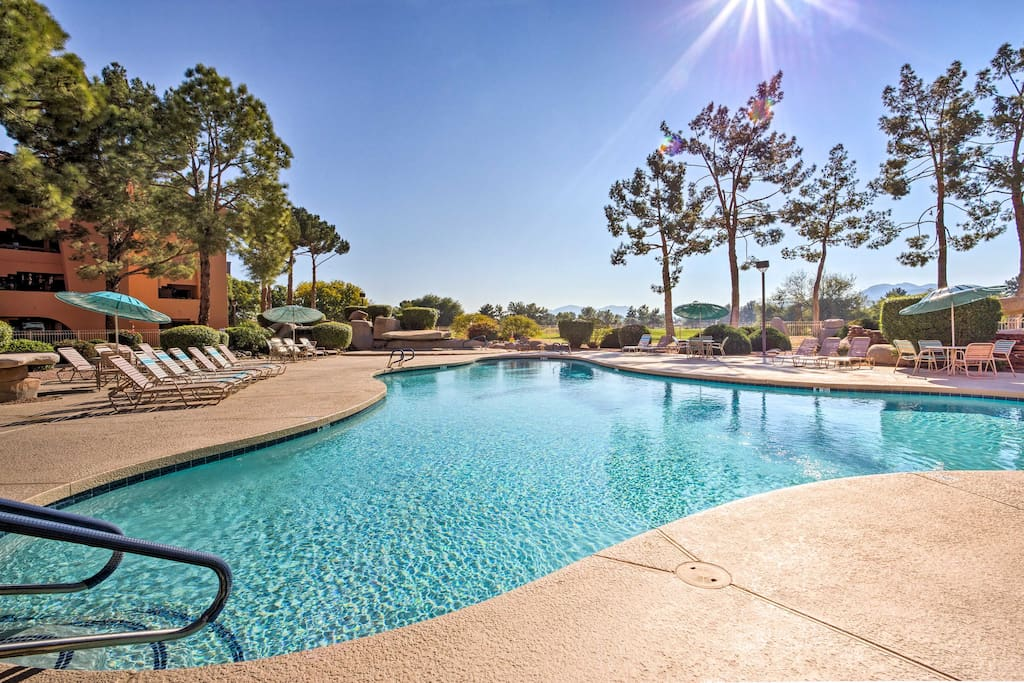 Spend your downtime lounging next to the one of the 5 lavish community pools.