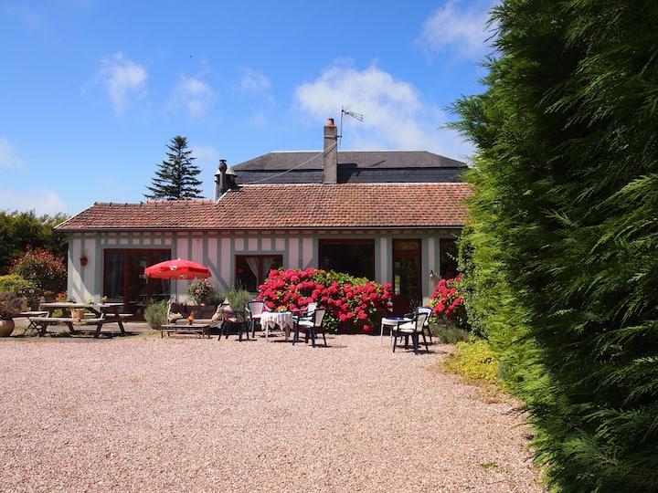 Chambre Acacias rez de jardin