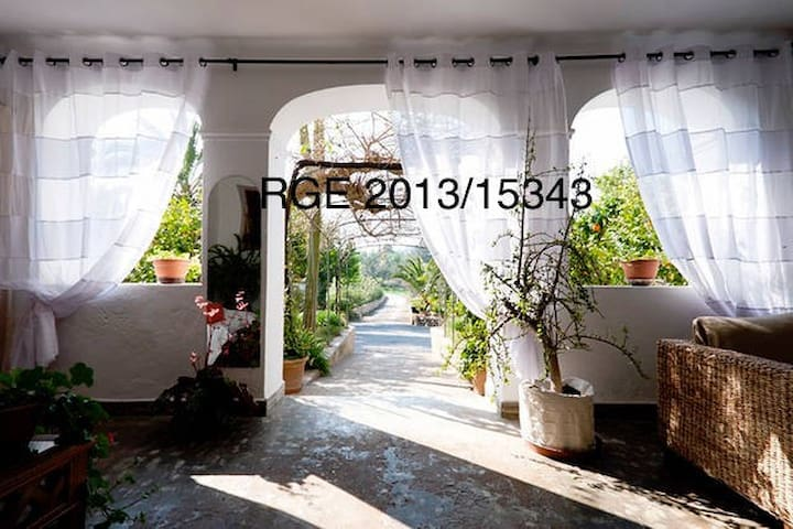 Rooms in typical house with charm!! (Perles) - Ibiza - Huis