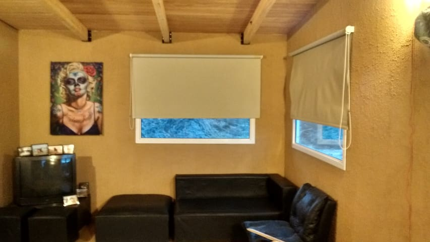 Potrerillos, Zorro Gris Habitación en cabaña