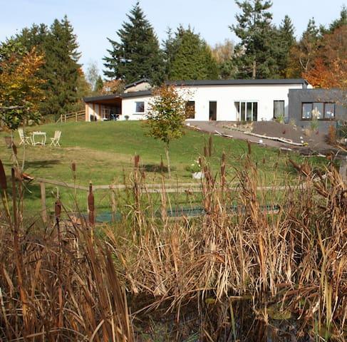 """Natur und Entspannung im Ferienhaus """"Auszeit"""" - Ellscheid - Loma-asunto"""