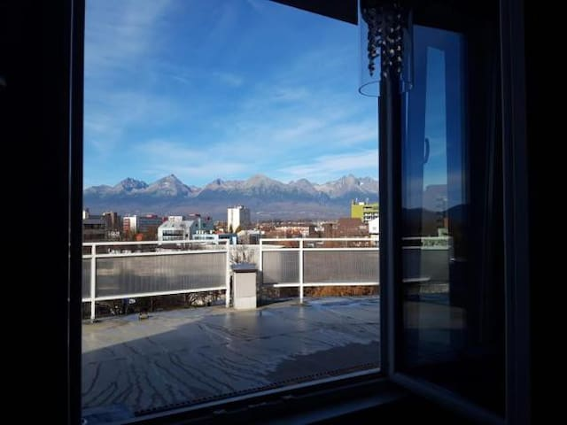 Apartman HIGHTATRAS VIEW Centrum Poprad