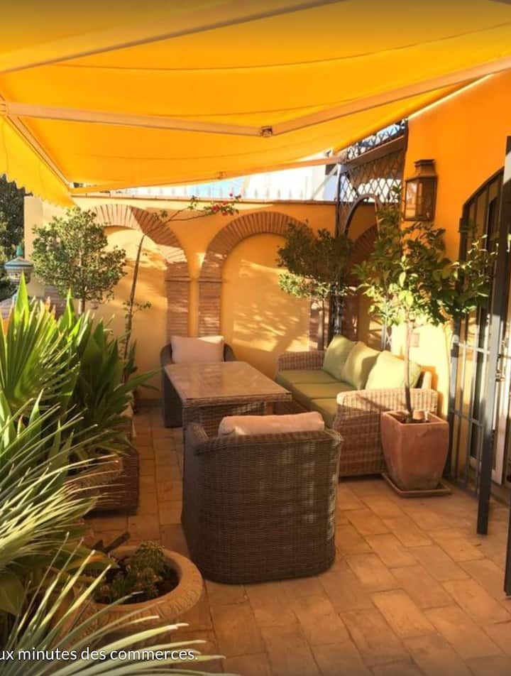 Maison avec grande terrasse - Centre Séville
