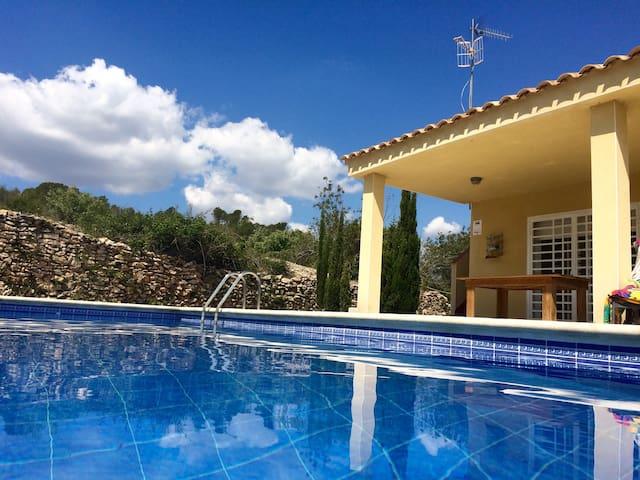 Vakantiewoning met privé zwembad